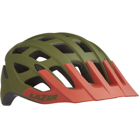 Lazer Roller Casco, matte khaki/orange